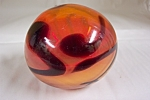 Large European Art Glass Paperweight