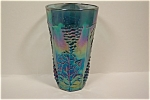 Imperial Purple Grape Pattern  Carnival Glass Tumbler