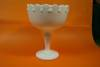 Click to view larger image of Milk Glass Pedestal Compote (Image2)