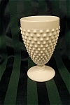 Click here to enlarge image and see more about item MG011: Fenton Milk Glass Hobnail Goblet