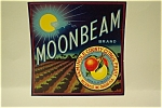 Moonbeam Brand Orange Crate Label