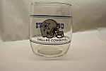 Click here to enlarge image and see more about item SFM0003: Dallas Cowboys 12 Ounce Glass