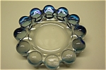 Click to view larger image of Elegant Cased Light Blue Art Glass Ash Tray (Image1)