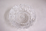 Click to view larger image of Beautiful Cut Lead Crystal Glass Ash tray (Image1)