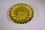 Vintage Amber Glass Ash Tray