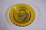 Click here to enlarge image and see more about item TGA027-1188328940: Nugget Casino Amber Glass Ash Tray