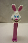 Click here to enlarge image and see more about item TP0039: Easter Bunny Pez (Pink Body)