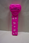 Click here to enlarge image and see more about item TP0052: Pink Happy Valentine's Day Pez