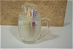Crystal Glass Mug Shaped Toothpick Holder