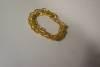 Click to view larger image of Elegant  Vintage Gold Plated Link Bracelet (Image2)