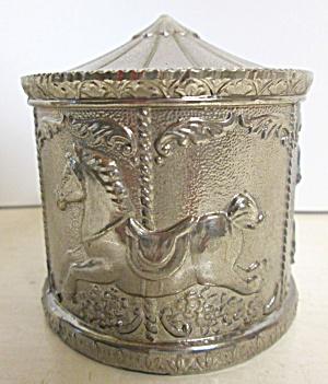 Antique Carousel Bank Metal (Image1)