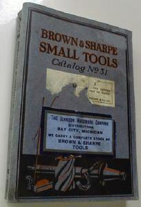 Brown & Sharpe Small Tools Catalog No. 31 1929