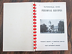 COOKBOOK PERSONAL RECIPES TILTONSVILLE OHIO (Image1)