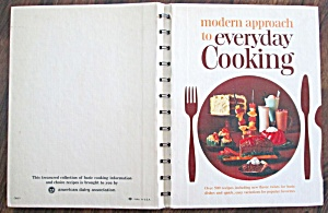 Modern Approach To Everyday Cooking Cookbook 1966