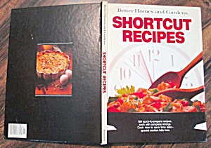 Cookbook Shortcut Recipes 1980