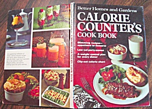 Calorie Counters Cookbook 1970