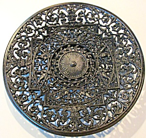 Antique Ornate Charger Cast Iron BUDERUS (Image1)