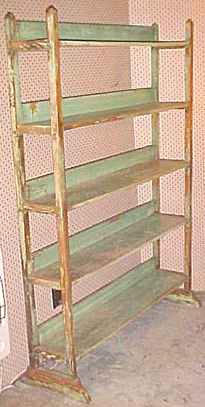 Antique Baker's Bread Rack Original Paint (Image1)