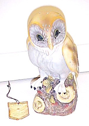 Owl Porcelain Figurine by Jonathon Byron (Image1)