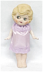 All Bisque Doll Flapper Style Big Eyes (Image1)