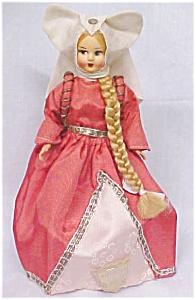 Lenci Style Doll Italy Rapunzel (Image1)