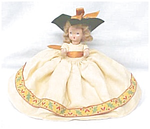 Nancy Ann Storybook Doll HP Autumn Dress (Image1)