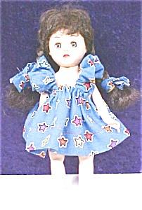 Virga Playmate Doll Brunette 1954 Pigtails (Image1)