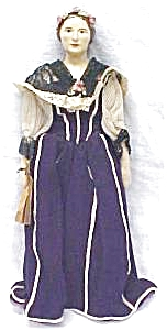 China Doll 1800's Ethnic Outfit Rare (Image1)