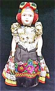 Ethnic Doll Vintage Colorful Costume (Image1)