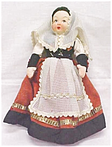 Lenci Type Doll Ethnic Dress (Image1)