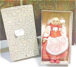 Lenci Style Doll Switzerland + Orig Box (Image1)