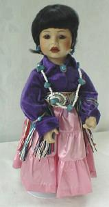 Indian Doll Dressed Up For The PowWow Swanson (Image1)