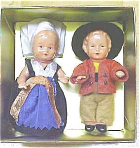Dolls Miniature MIB Vintage Celluloid (Image1)
