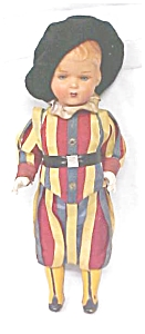 Celluloid Doll Palace Guard Colorful Uniform (Image1)
