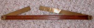 Stanley No. 42 Ship Carpenter's Bevel Rare