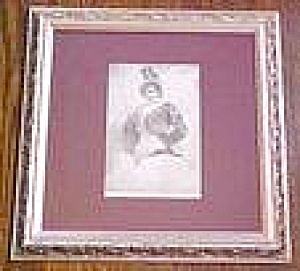 Spanish Lady Carmen Print 1892 Ornate Frame (Image1)