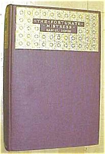 Daniel Defoe The Fortunate Mistress 1924 Ltd (Image1)