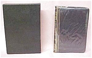 Robert Burns Poems Leather Miniature w/ Case (Image1)