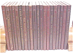 Lincoln Factory Service Books 20 Vols 1941 (Image1)