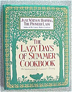 CookBook Lazy Days of Summer 1992 1st Ed (Image1)