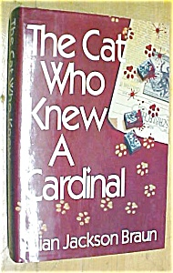 The Cat Who Knew a Cardinal Lilian Jackson Braun 1991 (Image1)