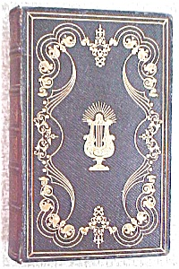 William Cowper Poetical Works Leather 1800's (Image1)