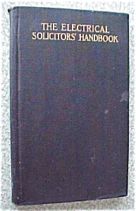 Electrical Solicitor's Handbook 1909