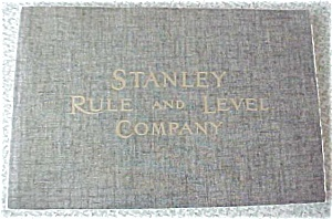 Stanley Rule and Level Co #102 Catalog Reprint (Image1)