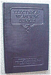 Electrical Measuring Devices Leather 1937