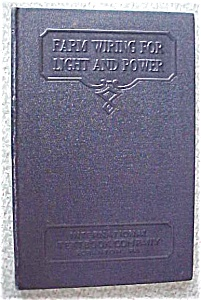Farm Wiring for Light and Power Leather 1937 (Image1)