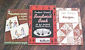 Grandma's Recipes Old Timey Recipes & Sandwich Book (Image1)