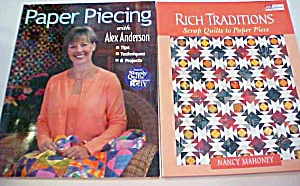 Quilt Books Paper Piecing Alex Anderson 2002 (Image1)