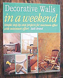 Decorative Walls in a Weekend Salli Brand 1998 (Image1)