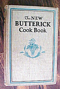 The New Butterick Cookbook 1924